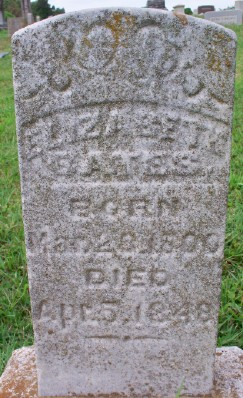 Elizabeth W. <i>Moore</i> Bates
