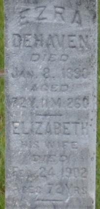 Elizabeth <i>Hower</i> DeHaven