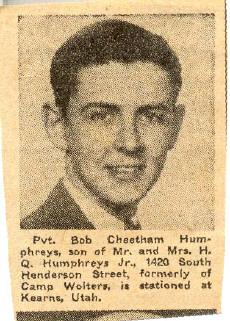 Robert Cheetham Bob Humphreys