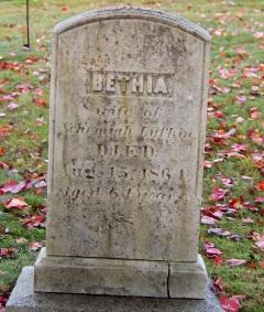 Bethia <i>Maxfield</i> Lufkin