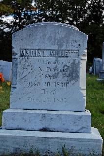 Maria L. <i>Millett</i> Porter