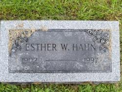 Esther Wilhelmina <i>TeStrake</i> Hahn