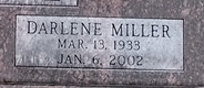 Darlene <i>Miller</i> Braune