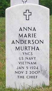 Anna Marie <i>Wilber</i> Anderson