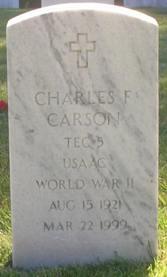 Charles F Carson
