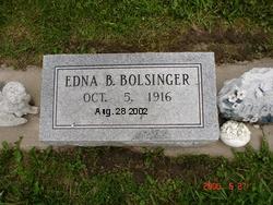 Edna Bertha Bolsinger