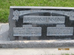 Margaret <i>Hunsaker</i> Christensen