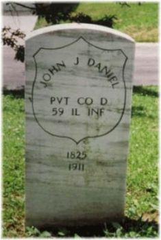 Pvt John J. Daniel