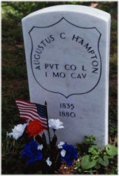 Pvt Augustus C. Hampton