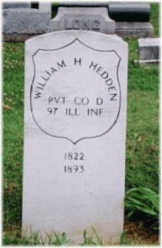 Pvt William H. Hedden