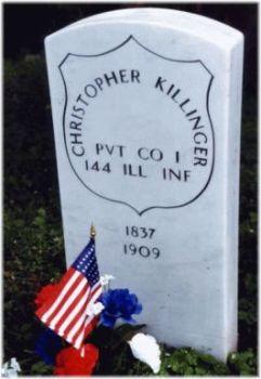 Pvt Christopher Killinger