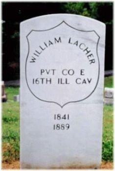Pvt William Lacher