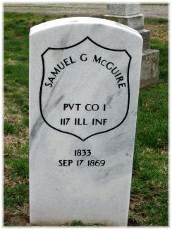 Pvt Samuel G. McGuire