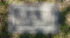 Dora Elsie <i>Bingham</i> Cooper