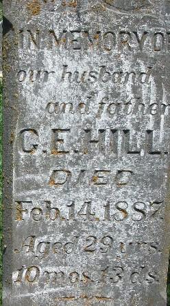 G. E. Hill