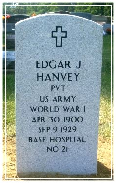 Pvt Edgar J. Hanvey