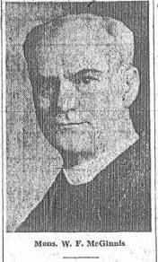 Rev Fr William F McGinnis