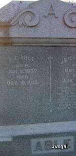 S. Elmina <i>Hodges</i> Able