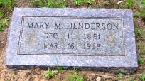 Mary <i>McLendon</i> Henderson