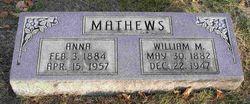 Nancy Anna <i>Wilson</i> Matthews