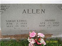 Sarah Ethel <i>Bell</i> Allen