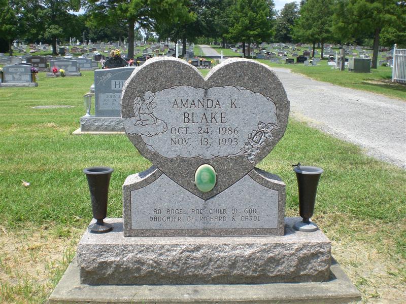 Amanda Kathryn Blake (1986 - 1993) - Find A Grave Photos