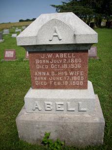 Anna Belle <i>Singleton</i> Abell