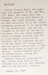Flossie Edna Ward