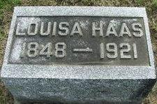 Louisa <i>Hennen</i> Haas