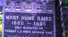 Mary Elizabeth <i>Hume</i> Baird
