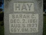 Sarah C. <i>Laramore</i> Hay
