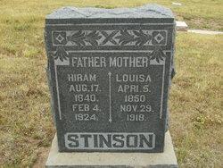 Louisa M <i>Carpenter</i> Stinson
