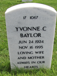 Yvonne C Baylor