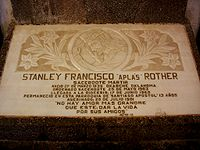 Rev Stanley Francis Padre A'Plas Rother