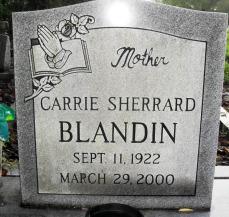 Carrie <i>Sherrard</i> Blandin