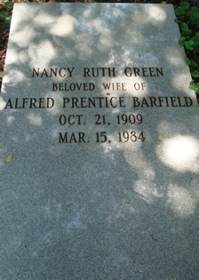 Nancy Ruth <i>Green</i> Barfield