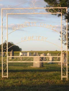 Burnetts Chapel Cemetery