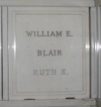 William W Blair, Jr