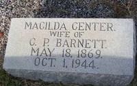 Macilda <i>Center</i> Barnett