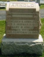 Mary Mahala <i>Hinkle</i> Arnold
