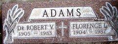 Dr Robert V. Adams