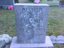 Ruby E. <i>Chesnut</i> Bishop