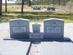 Thomas J Bodie