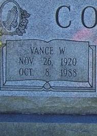 Vance W. Coffey