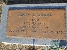 Elvin Leighton Adams