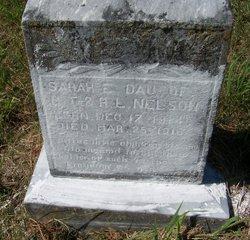 Sarah Elizabeth Nelson