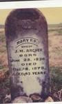 Mary Penelope P <i>Mullins</i> Archer