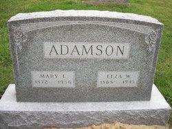 Mary Lovica <i>Condra</i> Adamson