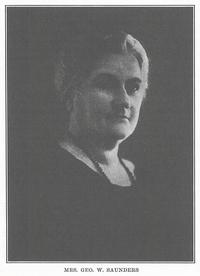 Ida <i>Friedrich</i> Saunders