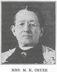 Mary K. (Kathryne) Cruze